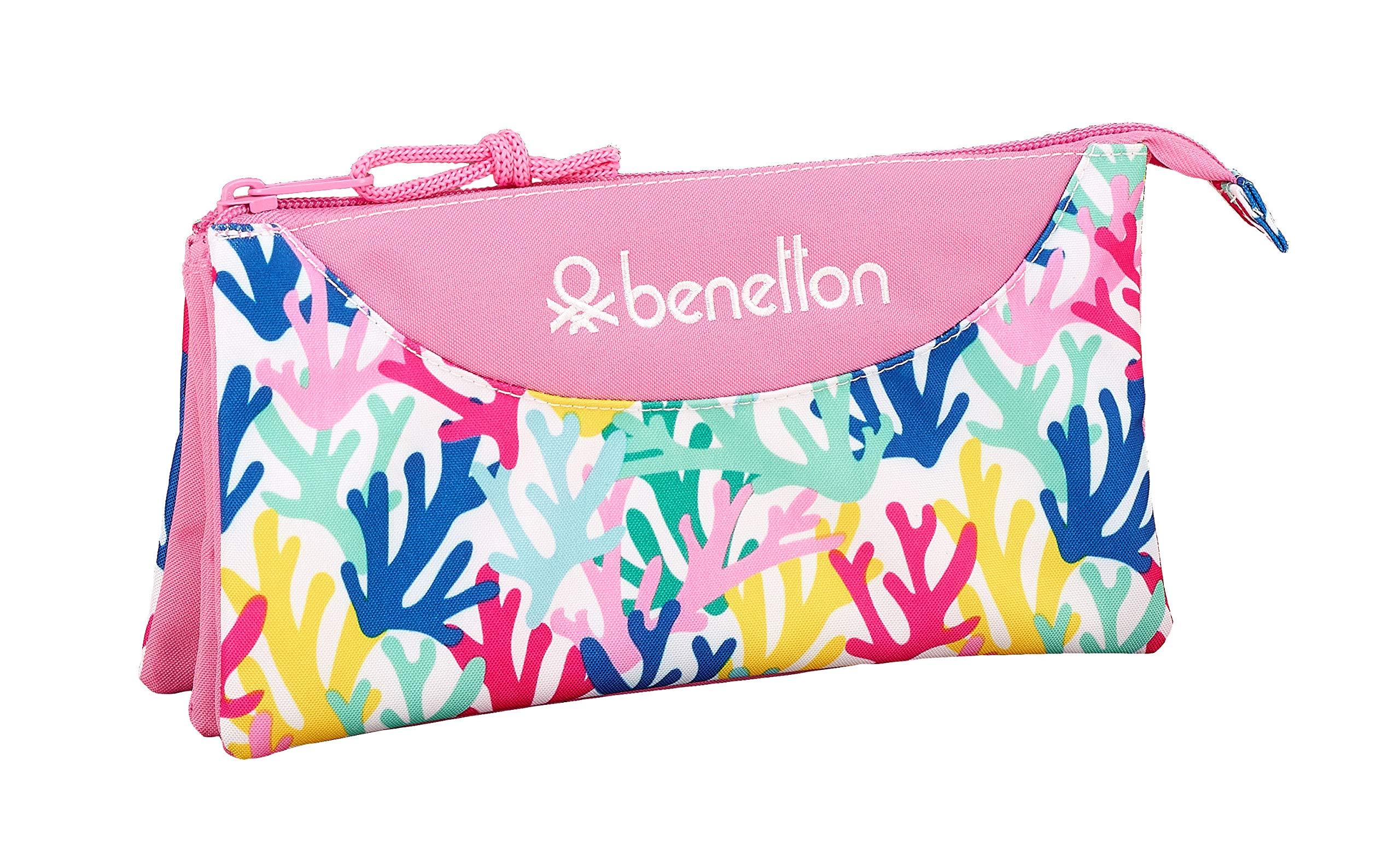 Benetton «Coralli» Oficial Estuche Escolar 220x30x100mm