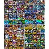 SunAurora - 100 Stuks Kaarten,Ruilkaarten Set - 78 EX Kaarten,21 GX Kaarten en 1 Energy-kaart