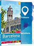 Barcelona Reiseführer - Top 50 Sehenswürdigkeiten & Aktivitäten + Faltkarte und Metroplan   Stadtreiseführer vom Miramar Verlag