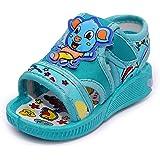 BOOMER CUBS Kids Unisex Sound Teddy Bear Walking Sandals