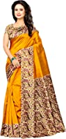 Winza Designer Silk Saree With Blouse Piece