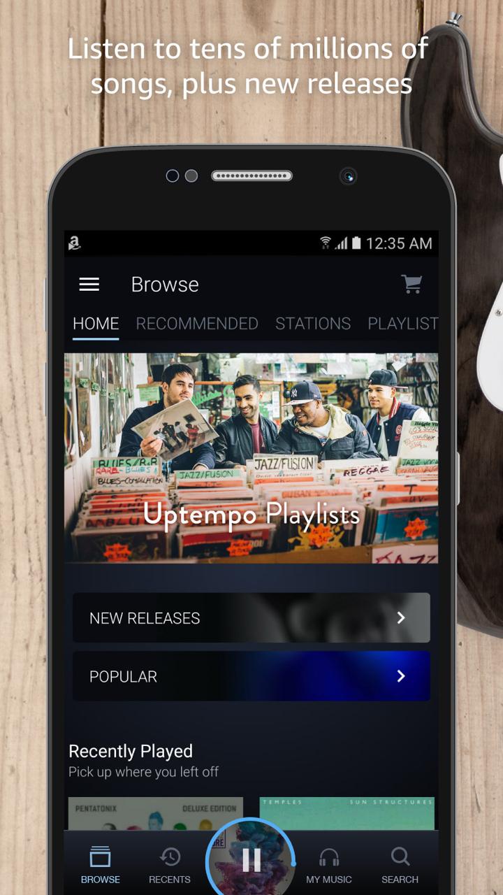 Amazone Music App