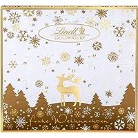 Lindt Goldstücke Adventskalender 2021 | 156 g verschiedene Schokoladen-Überraschungen | Ideales Schokoladen-Geschenk