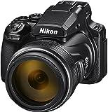 Nikon Coolpix P1000 Digitalkamera (16 Megapixel, 125-Fach optischer Megazoom, 3.2 Zoll RGBW-Display, 4K UHD-Video, WI-Fi)