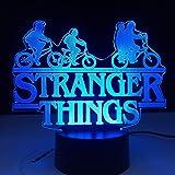 Stranger Things American Web Série TV Led veilleuse 7 couleurs changement capteur tactile chambre veilleuse lampe de Table me