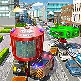 Feuer-Rettung Gyroskopischer Bus Fahrspiele 2018 911 Stadtambulanz Rettungs Simulator