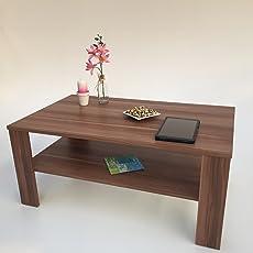 Perfekt Möbel SD Couchtisch(Bea) Nussbaum/Walnuss(Nachbildung) Dekor.