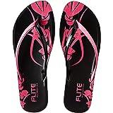 FLITE Women's Pul0a5l Leather Flip Flop