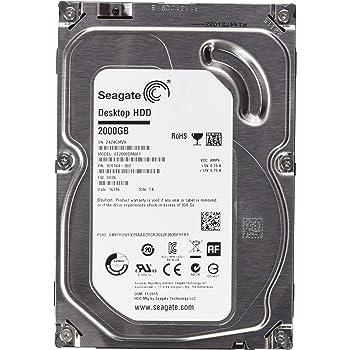 """Seagate Barracuda - Disco duro interno de 2 TB (3.5"""", SATA3, 64 MB, 7200 rpm)"""