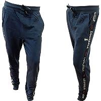 Lonsdale Pantalone Tuta Uomo in Felpa, Offerta 2 Pezzi, Peso Adatto Alla Primavera e Inverno, Pantaloni Felpa Uomo