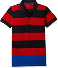 United Colors of Benetton Boys' Polo (17A30890ZAS2I_Multicoloured_EL)