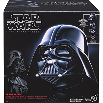 Star Wars Black Series Casque Électronique Dark Vador, Garçon, E0328, Unique