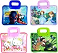 Gifts Online Shopping Tote Bag for Kids Birthday Return Gift Party Favor (Pack of 12) - Assorted Colour