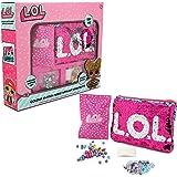 L.O.L. ¡Sorpresa! Switch - Kit de costura para hacer bisutería y bolsos de lentejuelas para niñas LOL Muñecas Confeti Pop Div