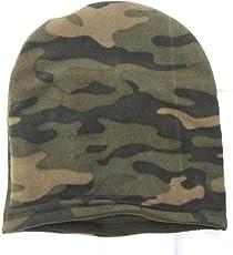 Add-Gear™ Fleece Ski Cap Insulated Military Style Reversible Thermal Polar Skull Cap