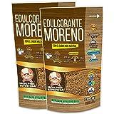 EDULCORANTE MORENO 100% NATURAL GRANULADO DE CAÑA CON MAGNESIO Y FIBRA VEGETAL GUAR |OFERTA LANZAMIENTO 2X1 | 2 ENVASES DE 20