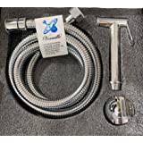 Stainless external bidet with holder and zipper