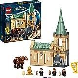 Zestaw konstrukcyjny LEGO® Harry Potter™ 76387 Hogwart™: spotkanie z Puszkiem — świetny kolekcjonerski model trzygłowego psa
