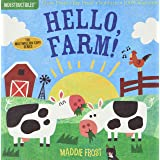 Indestructibles: Hello, Farm! [Idioma Inglés]: Chew Proof - Rip Proof - Nontoxic - 100% Washable (Book for Babies, Newborn Bo