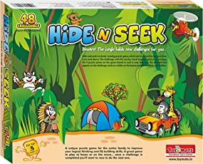 Toymate Playmate Hide N Seek Jungle Education Mind Fun Puzzle Game for Kids