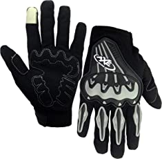 PITZO AXE Racing Touch Screen Full Finger Protective Gloves for Motorcycle