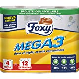 Foxy - MEGA3 - Papel higiénico - 4 rollos (Papel WC)