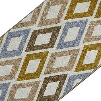 Teppichläufer mit modernem Retro Design | hochwertige Meterware ...