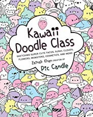 Kawaii Doodle Class: Sketching Super-Cute Tacos, Sushi, Clouds, Flowers, Monsters, Cosmetics, and More (Drawing)