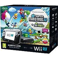 Nintendo Wii U 32GB New Super Mario Bros and New Super Luigi Bros Premium Pack - Black (Nintendo Wii U)