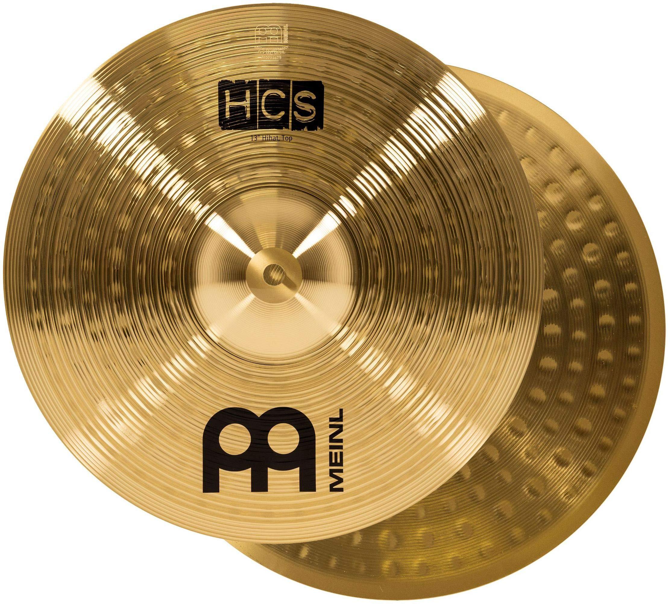 Meinl HCS1314+10S+TX5AW Set Piatti Hi-Hat e Crash con Splash 10″