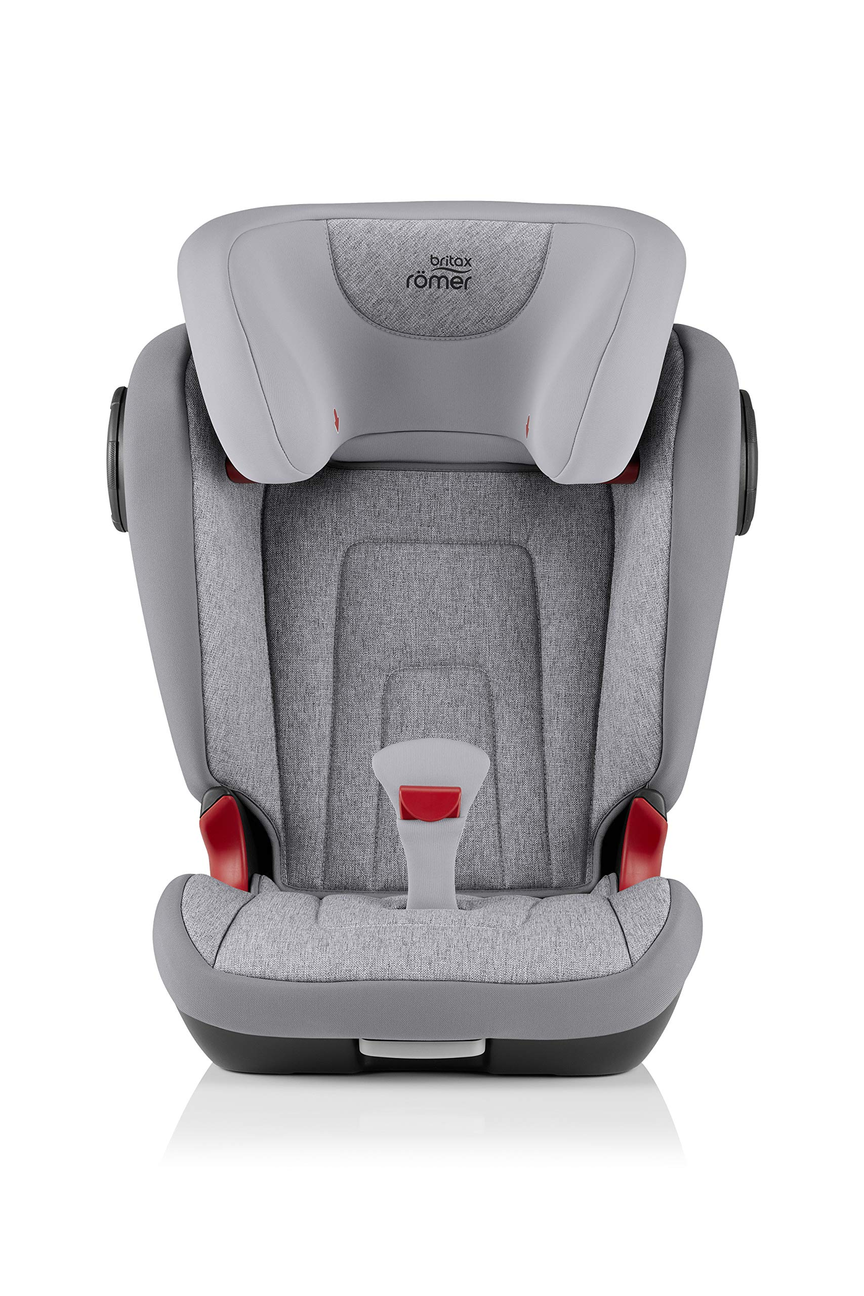 Britax Römer KIDFIX² S Group 2-3 (15-36kg) Car Seat - Grey Marble  Advanced side impact protection - sict offers superior protection to your child in the event of a side collision. reducing impact forces by minimising the distance between the car and the car seat. Secure guard - helps to protect your child's delicate abdominal area by adding an extra - a 4th - contact point to the 3-point seat belt. High back booster - protects your child in 3 ways: provides head to hip protection; belt guides provide correct positioning of the seat belt and the padded headrest provides safety and comfort. 2