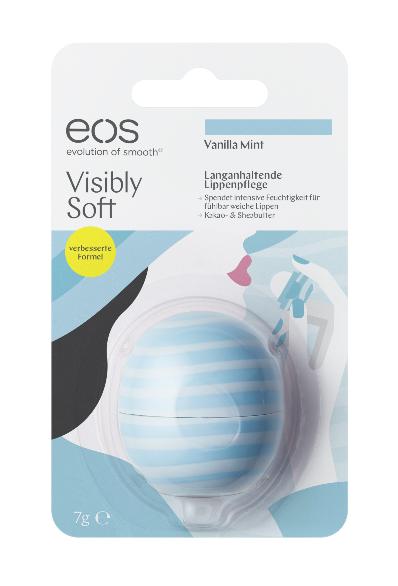 Visibly Soft Vanilla Mint Smooth Sphere Lip Balm Blister 7g Amazon