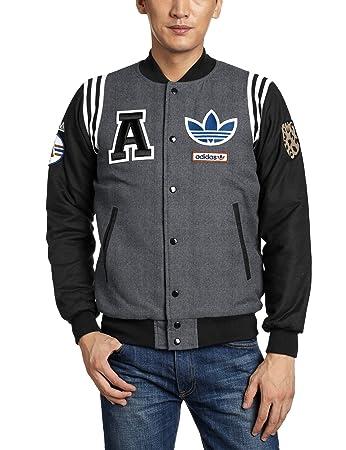 Adidas college jacke herren rot