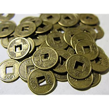 Amazonde Berk Fs 134 Feng Shui Chinesische Glücksmünzen