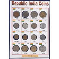 Coins & Stamps Republic India 16 Different Coins