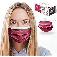 HARD 50x Medizinischer Mundschutz, Made in Germany, TYP IIR OP-Maske, CE zertifiziert EN14683 99,78% BFE 3-lagig, Einweg…