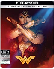 Wonder Woman (Steelbook) (4K UHD + Blu-ray 3D + Blu-ray) (3-Disc)