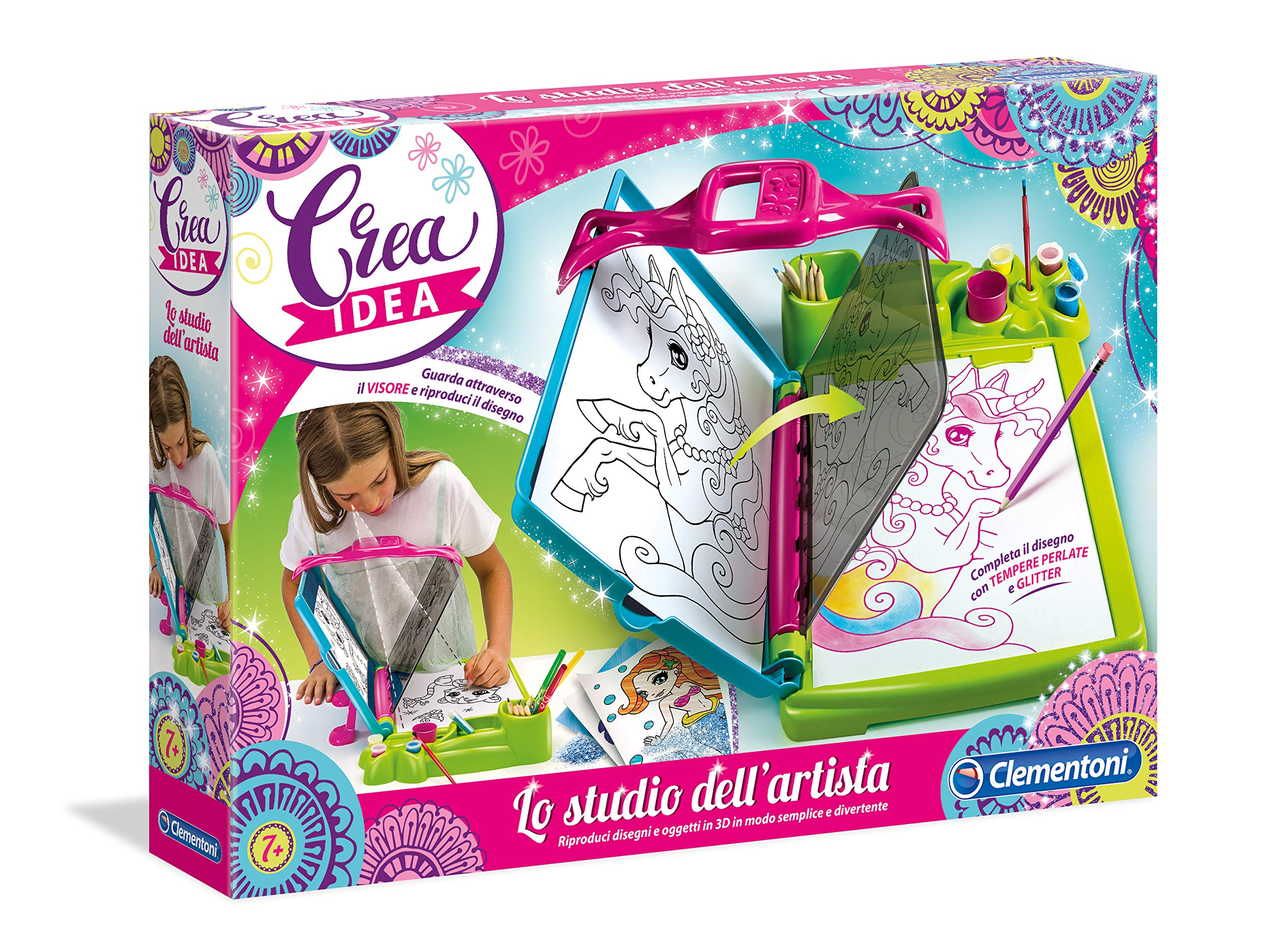CLEMENTONI-Die-Firma-DellArtista-TV-Spiele-der-frhen-Kindheit CLEMENTONI Die Firma Dell'Artista TV – Spiele der frühen Kindheit -