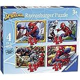 Ravensburger UK 6915Marvel Spider-Man 4in Box Puzzle