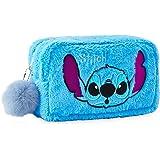 Disney Lilo Et Stitch Trousse De Toilette Originale, Trousse Maquillage En Fourrure Ultra Douce, Accessoire De Voyage Rigolo,