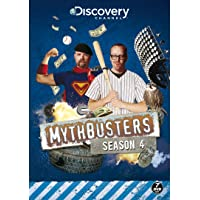 Mythbusters: Season 4 [DVD] [UK Import]