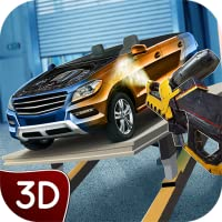 Car Truck Builder Factory Tycoon Game: Auto Car Manufacturing Simulator 3D | Construction Crew Team