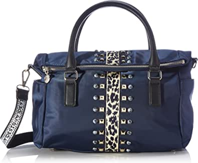 Desigual Accessories Fabric Hand Bag, Borsa a Mano. Donna, Blu, U