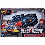 NERF Power Moves Marvel Black Widow Stinger Strike NERF Dart-Launching Rollenspel Speelgoed voor kinderen, inclusief 3 Darts,