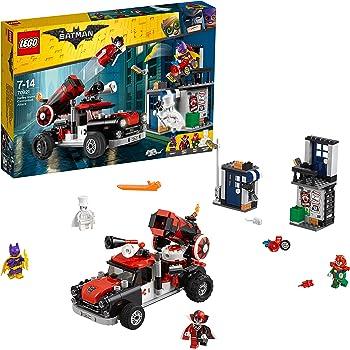 LEGO Batman - L'attaque boulet de canon d'Harley Quinn - 70921 - Jeu de construction
