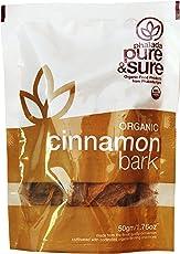 Pure & Sure Organic Cinnamon Bark, 50g