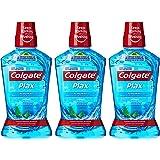 Colgate Plax Peppermint Mint Mouthwash, 500 ml (Pack of 3)