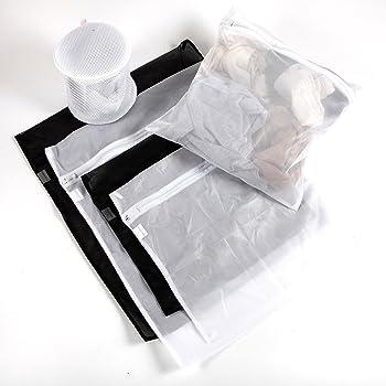 8 Stück Wäschenetz für Waschmaschine feinmaschig /& grobmaschig BHs Cubewit Wäschesack Wäschetasche Set Waschbeutel ideal für empfindliche Wäsche Waschmaschine mit Reißverschluss Agoer Trockner