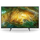 Sony KD-49XH8096 Bravia TV (Android TV, LED, 4K Ultra HD (UHD), High Dynamic Range (HDR), Smart Spraakafstandsbediening, 2020