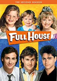 Full House: The Complete Season 2 (4-Disc Box Set) (Slipcover + Fully Packaged Import) (Region 2 & Region 5)